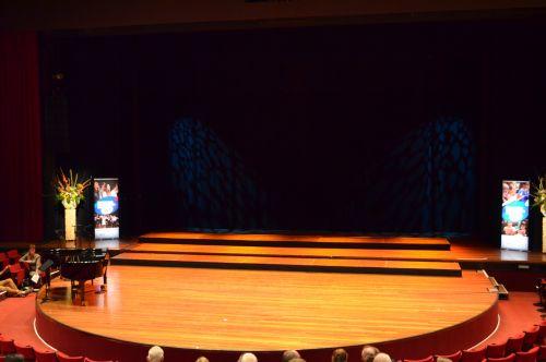 Leeg podium